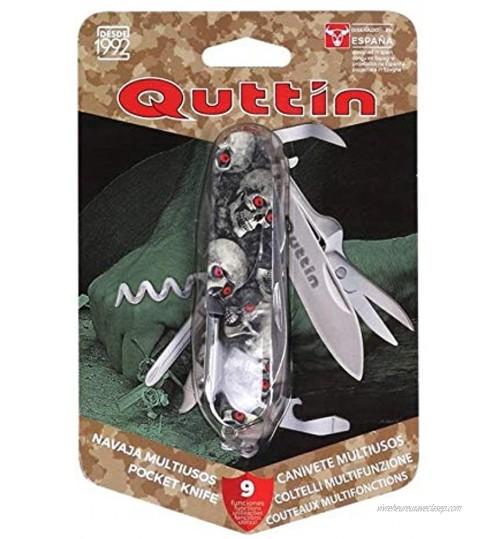 Quttin 47716 Couteau Multifonction 7 Fonctions