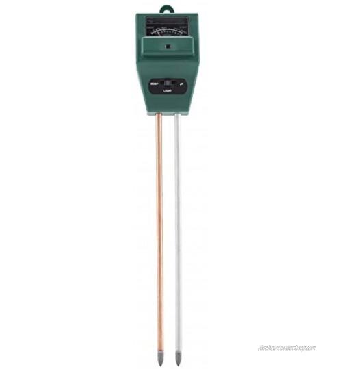 ViaGasaFamido 3 en 1 PH Testeur Portable Sol PH Eau Humidité De La Lumière Test Mètre Capteur De Lumière du Soleil pour la Fleur des Plantes De Jardin Croissance Saine Aucune Batterie