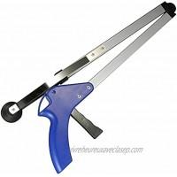 Pince manuelle outil de ramassage à longue portée Wilecolly Pince à main pour atteindre l'outil de ramassage de litière pliable