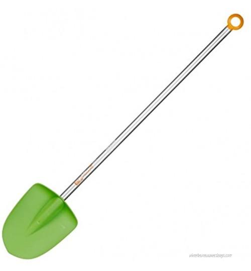 Fiskars Bêche pour enfant Longueur: 91 cm Tête en plastique Manche en aluminium Vert Orange My First Fiskars 1001420