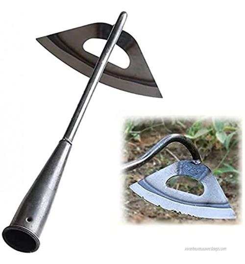 Dragon Honor Binette creuse entièrement en acier trempé pour ameublir le sol Accessoire de jardinage