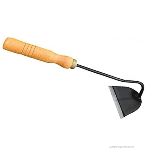 Mini binette portable en acier pour ameublir le sol avec poignée en bois Outil de jardinage pour jardinage désherbage creusage