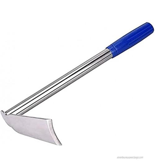 MWXFYWW Binette de Jardin,Houe d'acier Inoxydable houe portative de désherbage de creusement de Jardin d'outils de JardinageSize:35x14x6cm