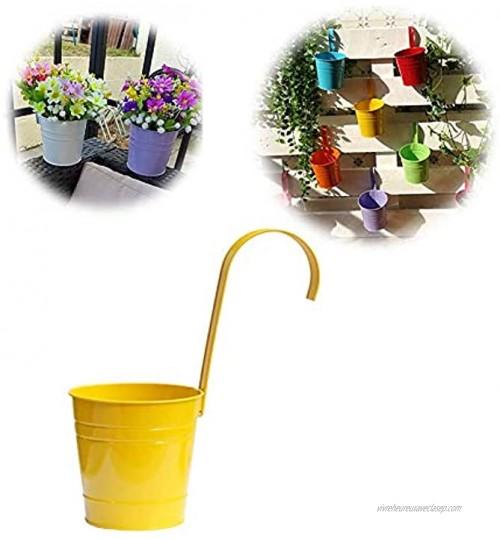 Hpera Contenants pour Plantes Grand Décorations pour la Maison Usine Accessoires des Pots de Fleurs pour La Maison Jardin Décorations 6inch