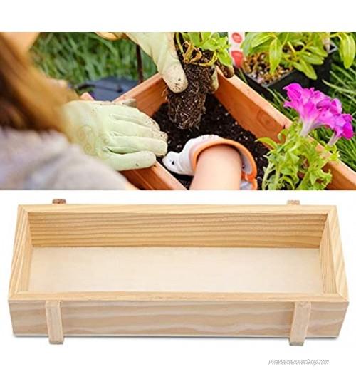Pot de Fleurs en Bois boîte à Plantes Boîte de Rangement intérieur extérieur en Bois pour Plantes aromatiques jardinière