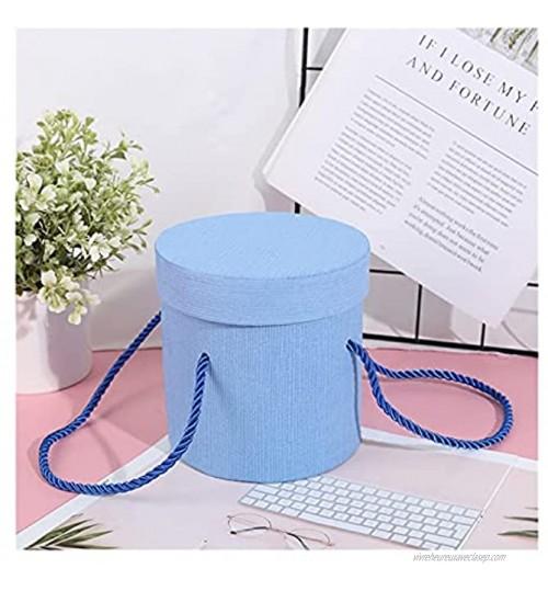 xinlianxin 1 boîte ronde en papier avec motif floral pour contenir un seau un cadeau de fête un bar une fête un mariage couleur : 1