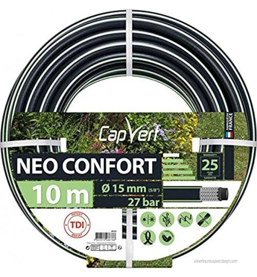 Cap Vert Tuyau d'arrosage Néo Confort Diamètre 19 mm Longueur 10 m