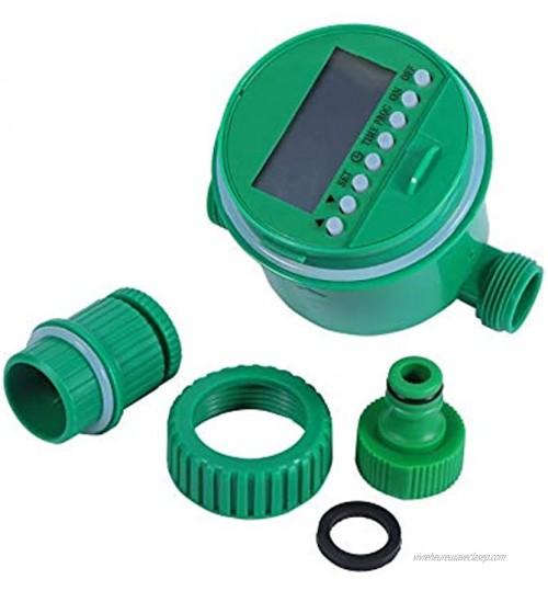 Canyita Minuterie d'arrosage programmes électroniques de contrôle Automatique d'irrigation de Jardin de Digital pour Le Balcon Familial de pelouse de Toit de Jardin
