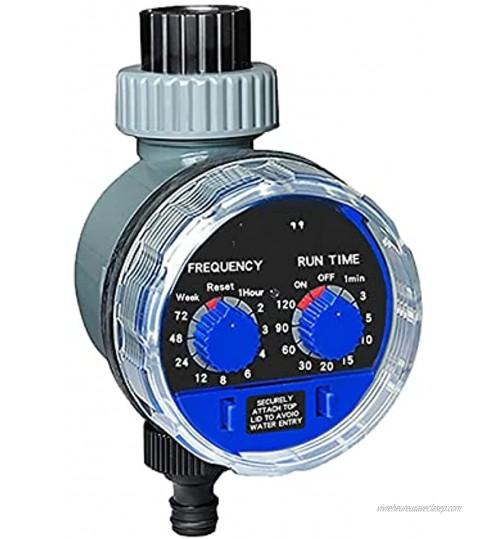 EWDF Timètre d'eau de Jardin Soupape à rotule électronique Automatique Minuterie d'arrosage électronique Home Jardin de Jardin Système de contrôleur Color : No Rain Sensor Hole