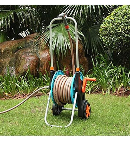 Snufeve6 Support de Tuyau Chariot de Tuyau résistant au Gel pour Tuyau d'eau de Jardin pour Le ménage