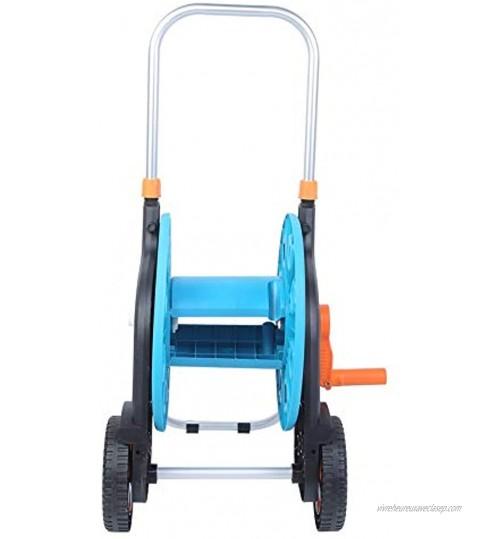 WAQU Chariot enrouleurs de Tuyau d'arrosage Portables Chariot de Rangement pour Tuyau d'arrosage Chariot d'arrosage de Jardin