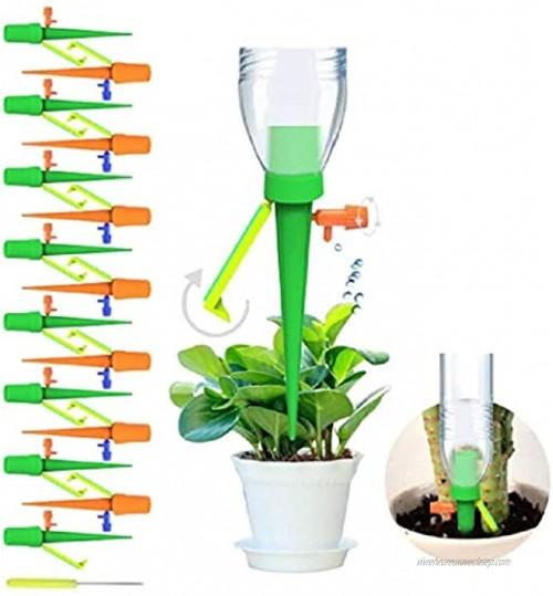 hicen 15 Pics Irrigation Goutte à Goutte D'arrosage Automatique pour Plantes Avec Système D'arrosage à Libération Lente pour Plantes D'intérieur