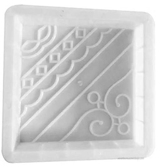 Moule de tremplin en plastique moule de fabricant de marche pavant le moule de pierre de marche en béton moule réutilisable de fabricant de chemin pour le décor de jardin et d'arrière-cour et patios