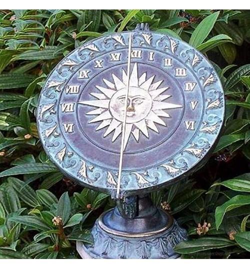 Gartentraum Décoration de Cadran Solaire pour Le Jardin Helios