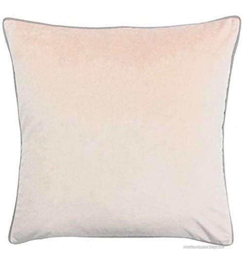 Paoletti Meridian 55X55 C C Blush Grey Polyester Erröten Rosa Grau 55x55cm
