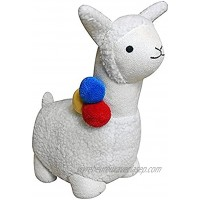 Riva Home DST MUL Llama Door Stop Polyester Weiß Taille Unique